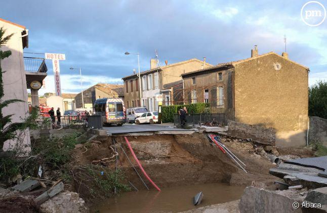 Les inondations dans l'Aude ont fait au moins 11 morts.