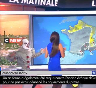 Frayeur pour la présentatrice météo de CNews.