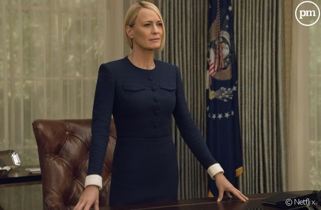 "Robin Wright dans ""House of Cards"""