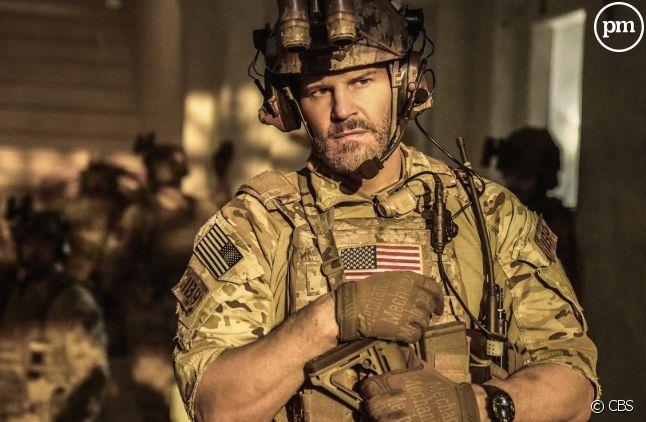 "David Boreanaz dans ""SEAL Team"""