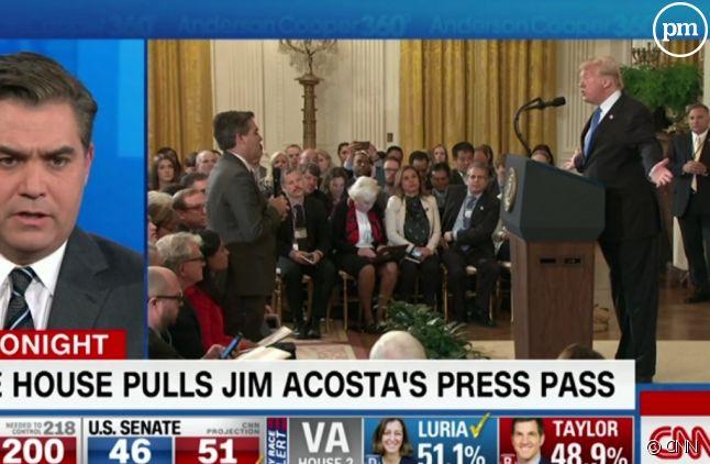 Jim Acosta sur CNN