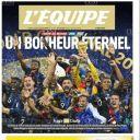 Les Bleus champions du monde pour la deuxième fois