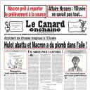 "Nicolas Hulot à la Une du ""Canard"""