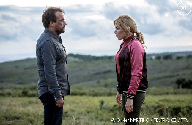 """Stéphane Hénon et Lola Marois dans """"Plus belle la vie"""""""