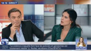 """""""Vous m'agressez immédiatement"""" : Echange tendu entre Yann Moix et Apolline de Malherbe sur BFMTV"""