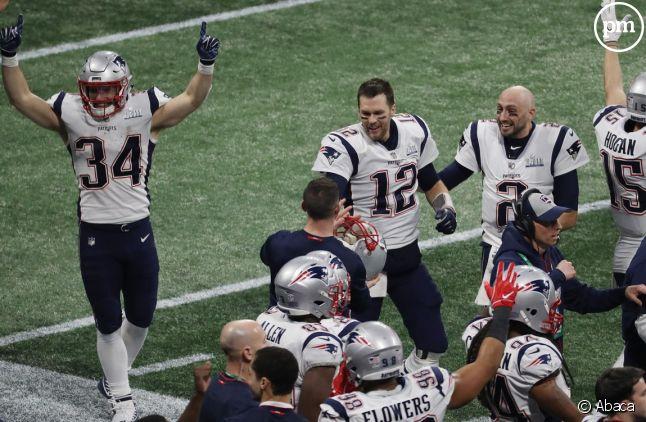 Les New England Patriots vainqueurs du Super Bowl 2019
