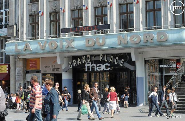 """Le siège de """"La Voix du Nord"""" à Lille"""