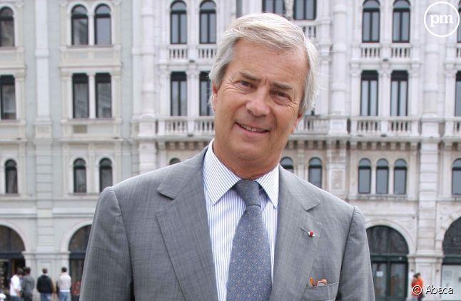 Vincent Bolloré, premier actionnaire de Vivendi.