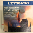 """""""Le désastre"""" en Une du """"Figaro"""""""