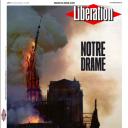 """""""Notre Drame"""" en Une de """"Libération"""""""