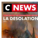 """""""La désolation"""" en Une de """"CNews"""""""