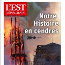 """""""Notre histoire en cendres"""" en Une de """"L'Est Républicain"""""""