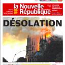 """""""Désolation"""" en Une de """"La Nouvelle République"""""""