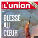 """""""Blessé au coeur"""" en Une de """"L'Union"""""""