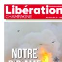 """""""Notre D(r)ame de Paris"""" en Une de """"Libération Champagne"""""""