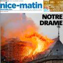"""Notre Drame"" en Une de ""Nice Matin / Var Matin"""
