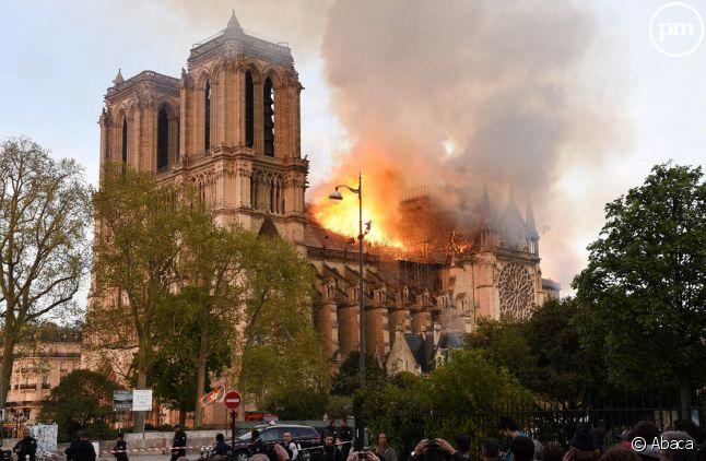 Notre-Dame de Paris, le 15 avril 2019