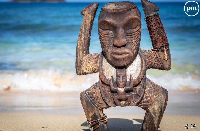 """Le totem d'immunité de """"Koh-Lanta : La guerre des chefs"""""""