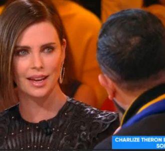 Charlize Theron sur le plateau de 'Touche pas à mon poste'