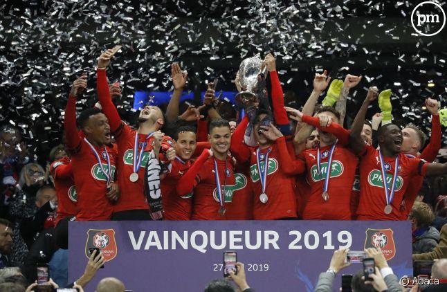 Le Stade Rennais a remporté la Coupe de France