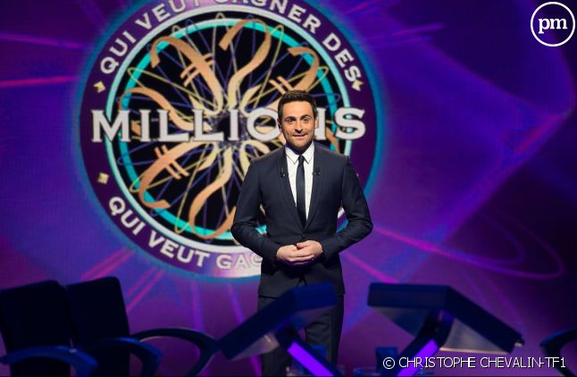 """Camille Combal dans """"Qui veut gagner des millions ?"""""""