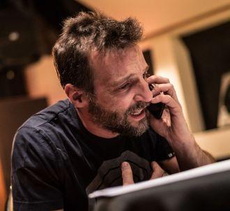 Mathieu Kassovitz lors de l'enregistrement de 'Calls'