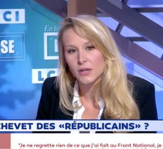Marion Maréchal sur LCI hier soir (Capture)
