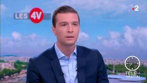 "France 2 : Quand Jordan Bardella dénonce les ""pulls Mickey"" que Sibeth Ndiaye n'a jamais mis le 14 juillet"