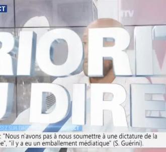 Stanislas Guerini coupé par Francky Zapata sur BFMTV