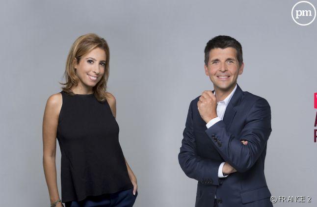 Léa Salamé et Thomas Sotto
