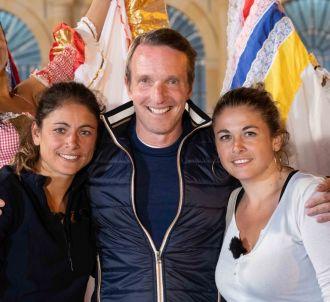 Stéphane Rotenberg en compagnie des deux gagnantes