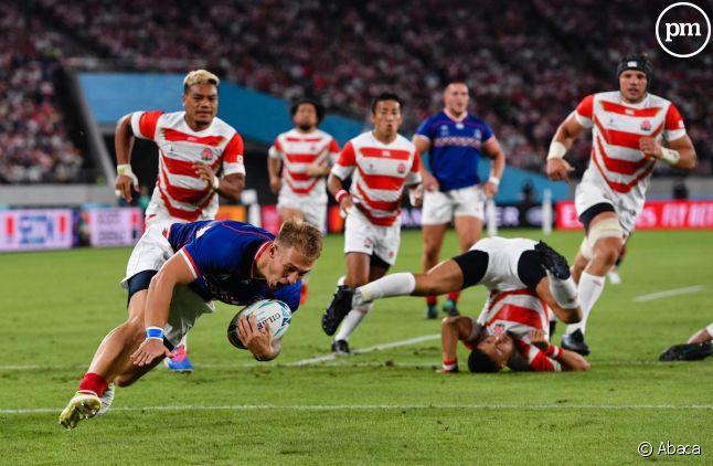 Japon/Russie, match d'ouverture du Mondial 2019 de rugby
