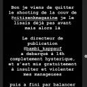 Story de Lomepal sur Instagram
