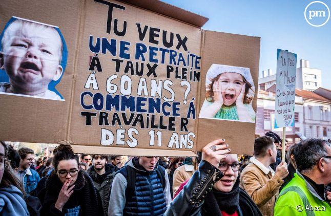 Manifestation à Paris le 5 décembre 2019