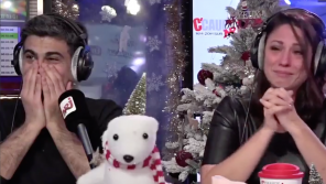 NRJ : Cauet et son équipe émus aux larmes par la demande poignante d'une petite fille au Père Noël