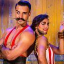 Monsieur Moustache et Madame Barbe
