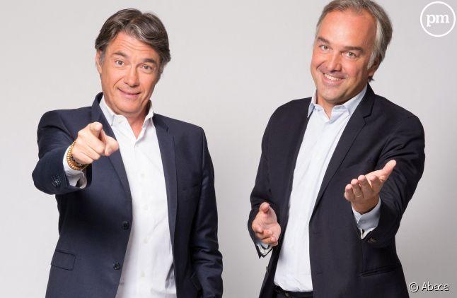 """Olivier Truchot et Alain Marschall présentent """"Les Grandes Gueules"""""""