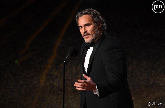 Joaquin Phoenix aux Oscars 2020
