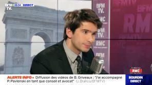 Affaire Griveaux : Juan Branco saisit le CSA après son interview sur BFMTV