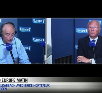 Jean-Pierre Elkabbach et Brice Hortefeux sur Europe 1