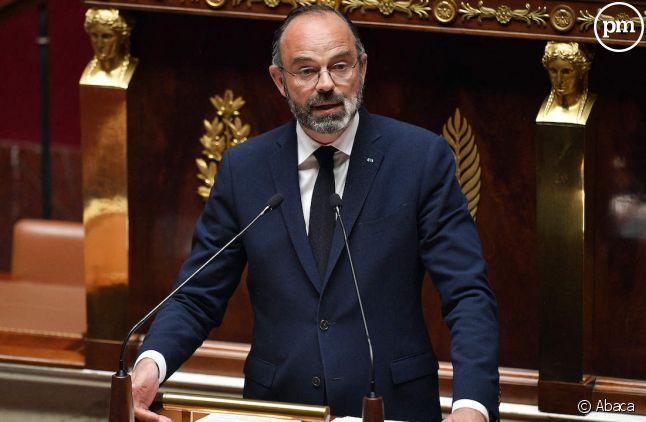 Edouard Philippe à l'Assemblée nationale, le 28 avril 2020.
