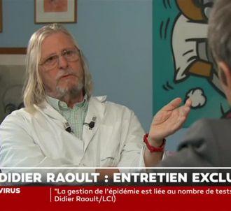 Le professeur Didier Raoult recadre David Pujadas