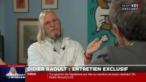"""""""Vous ne pouvez pas comprendre"""" : Le professeur Raoult recadre David Pujadas sur LCI"""