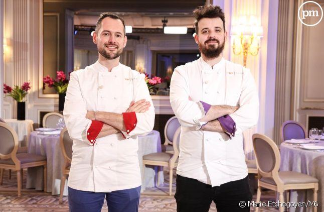 "David Gallienne et Adrien Cachot, finalistes de ""Top Chef"" 2020"