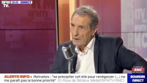 Plan social chez NextRadioTV : Jean-Jacques Bourdin tacle son patron Patrick Drahi sur sa fortune