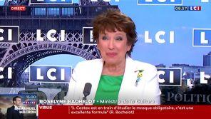 """""""C'est ma force"""" : Roselyne Bachelot assume son passage aux """"Grosses Têtes"""""""