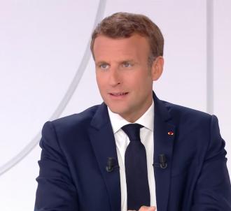 Emmanuel Macron lors de l'interview du 14 juillet