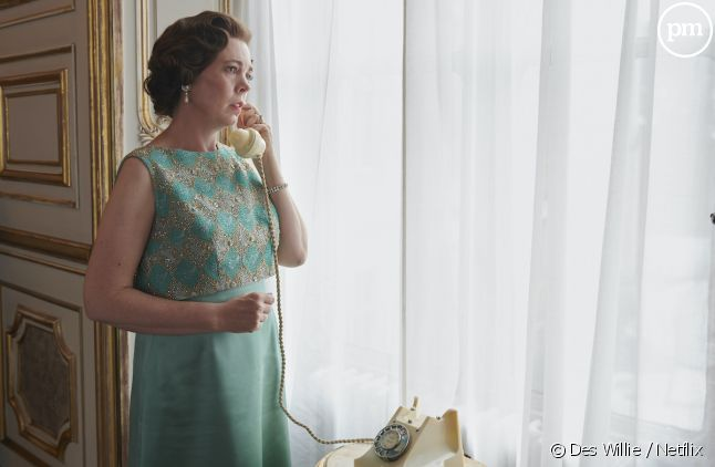 "Olivia Colman dans ""The Crown"""