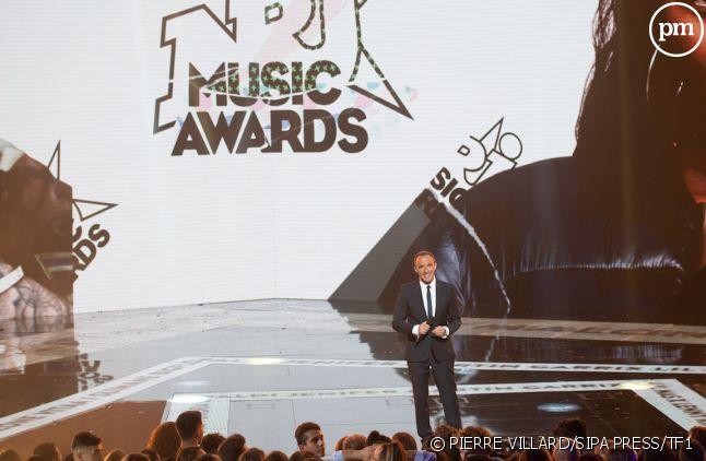Nikos Aliagas lors des NRJ Music Awards 2019