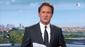 """Départ de Marie-Sophie Lacarrau : Nathanaël de Rincquesen fait ses adieux à sa place dans le """"13 Heures"""" de France 2"""